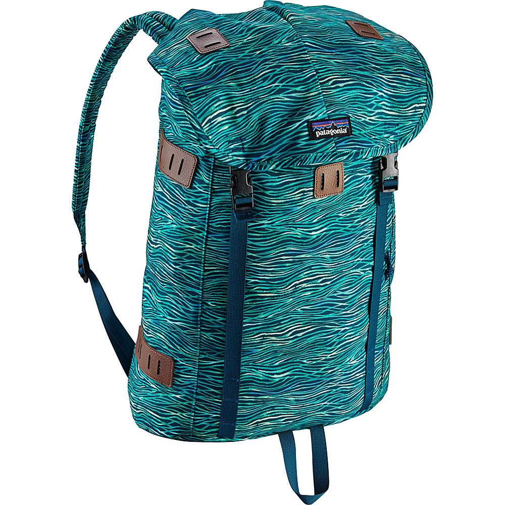 Patagonia Arbor Pack 26L Reef Waves: Big Sur Blue - Patagonia Everyday Backpacks - Backpacks, Everyday Backpacks