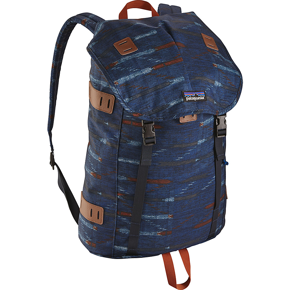Patagonia Arbor Pack 26L Elwha Ikat: Navy Blue - Patagonia Everyday Backpacks - Backpacks, Everyday Backpacks