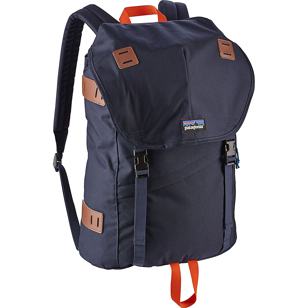 Patagonia Arbor Pack 26L Navy Blue w/Paintbrush Red - Patagonia Everyday Backpacks - Backpacks, Everyday Backpacks