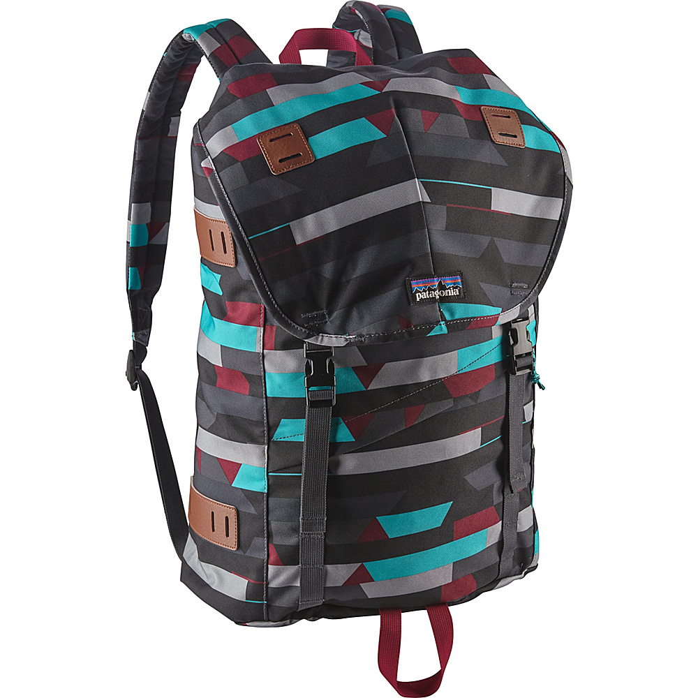 Patagonia Arbor Pack 26L Upstream Stripe: Smolder Blue - Patagonia Everyday Backpacks - Backpacks, Everyday Backpacks
