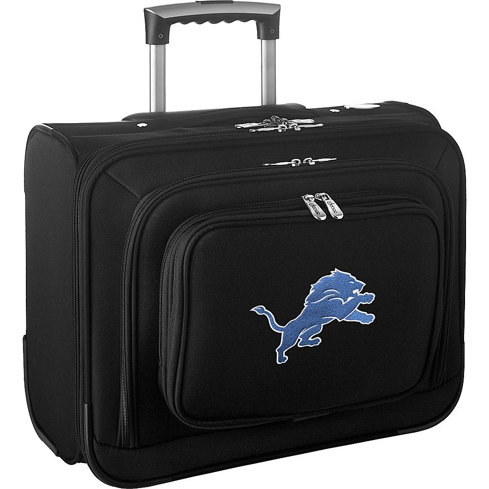 Denco Sports Luggage NFL 14 Laptop Overnighter Detroit Lions - Denco Sports Luggage Wheeled Business Cases - Work Bags & Briefcases, Wheeled Business Cases