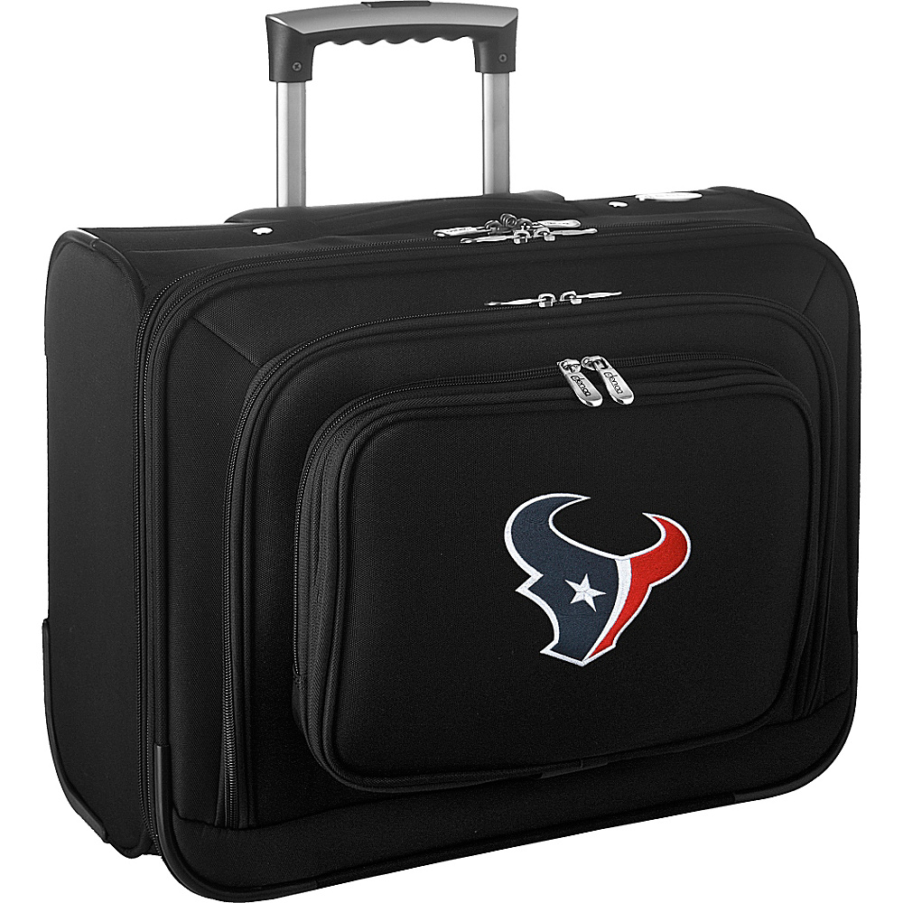 Denco Sports Luggage NFL 14 Laptop Overnighter Houston Texans - Denco Sports Luggage Wheeled Business Cases - Work Bags & Briefcases, Wheeled Business Cases