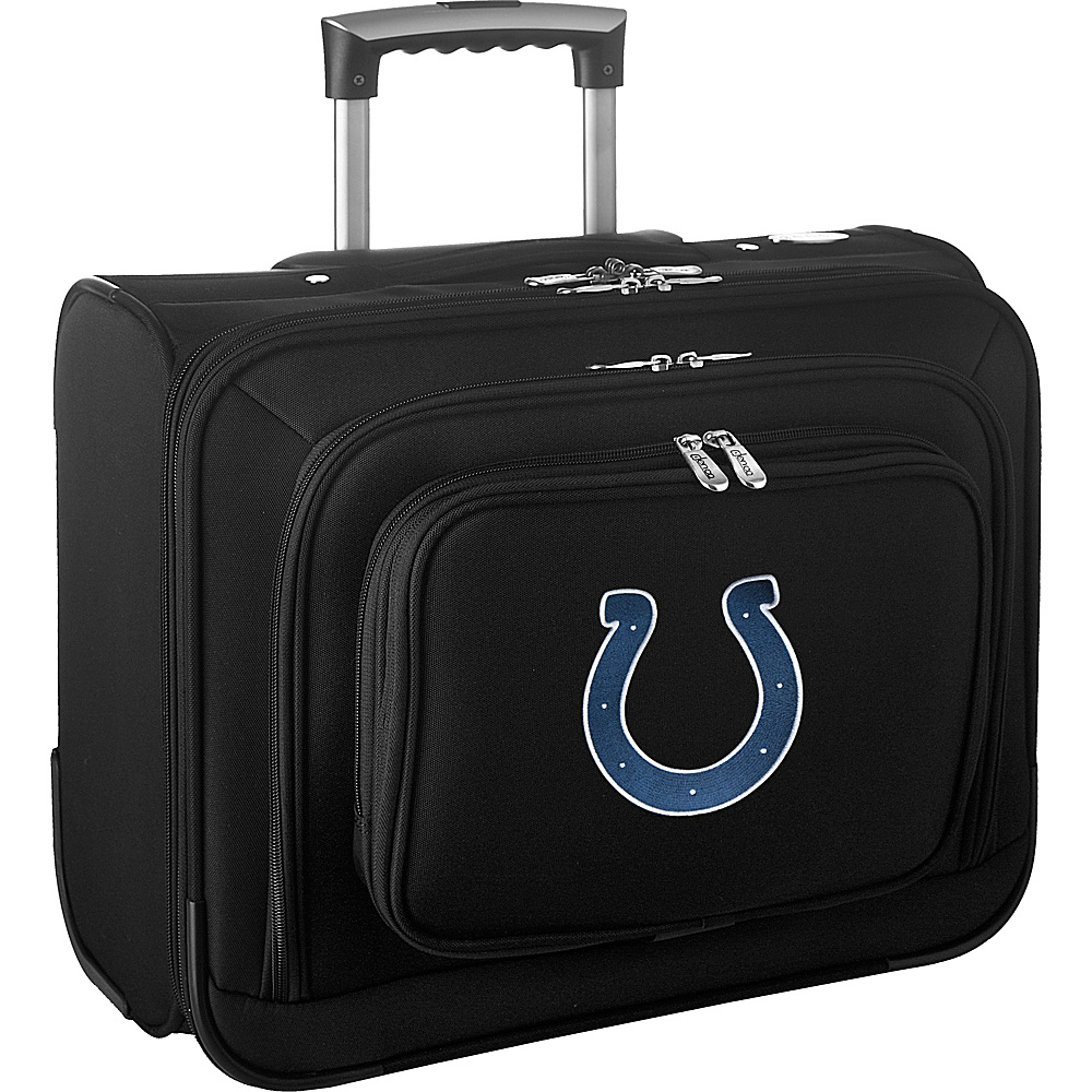 Denco Sports Luggage NFL 14 Laptop Overnighter Indianapolis Colts - Denco Sports Luggage Wheeled Business Cases - Work Bags & Briefcases, Wheeled Business Cases