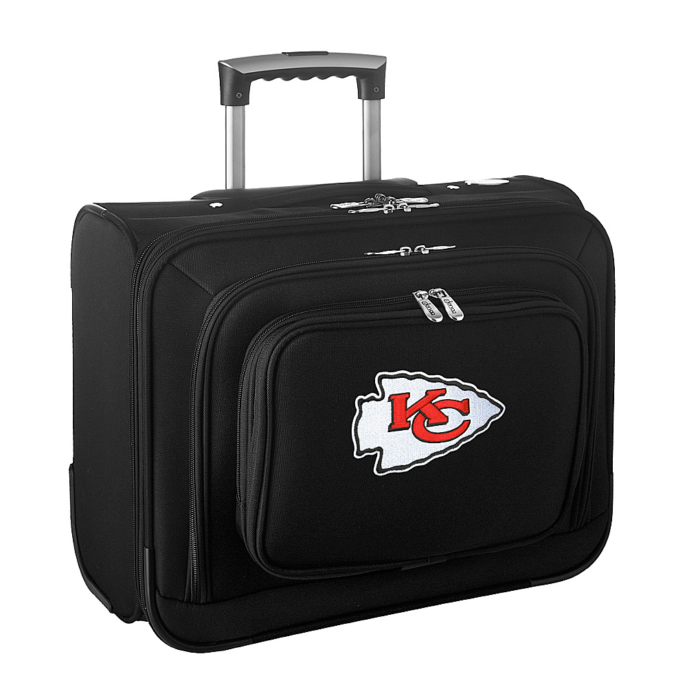 Denco Sports Luggage NFL 14 Laptop Overnighter Kansas City Chiefs - Denco Sports Luggage Wheeled Business Cases - Work Bags & Briefcases, Wheeled Business Cases