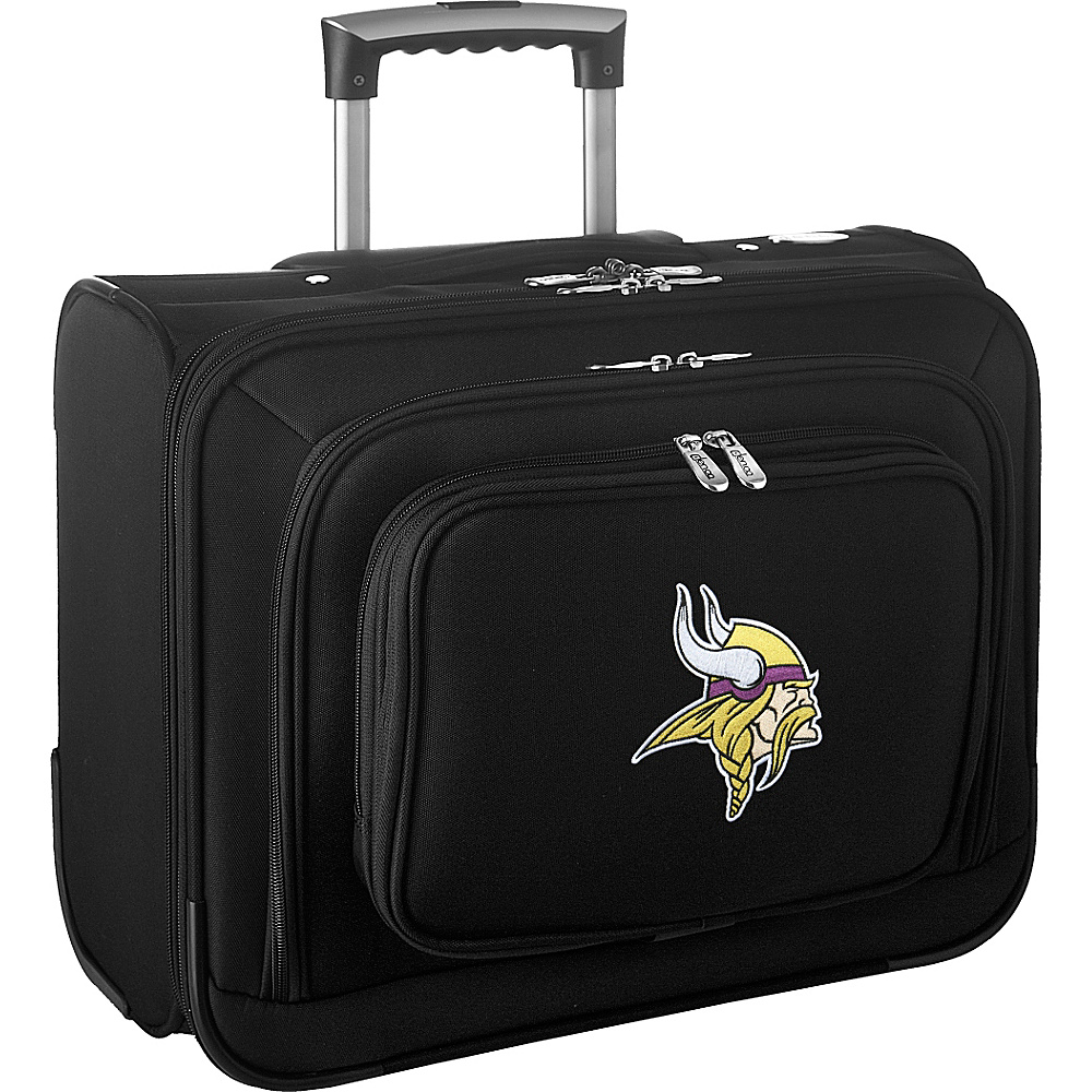 Denco Sports Luggage NFL 14 Laptop Overnighter Minnesota Vikings - Denco Sports Luggage Wheeled Business Cases - Work Bags & Briefcases, Wheeled Business Cases