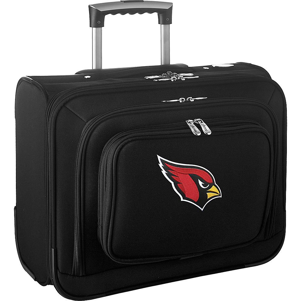 Denco Sports Luggage NFL 14 Laptop Overnighter Arizona Cardinals - Denco Sports Luggage Wheeled Business Cases - Work Bags & Briefcases, Wheeled Business Cases