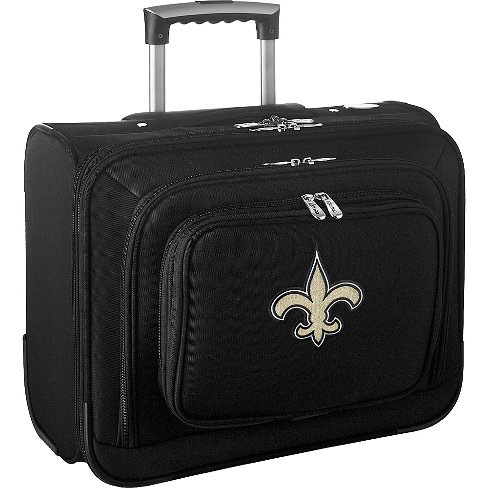 Denco Sports Luggage NFL 14 Laptop Overnighter New Orleans Saints - Denco Sports Luggage Wheeled Business Cases - Work Bags & Briefcases, Wheeled Business Cases