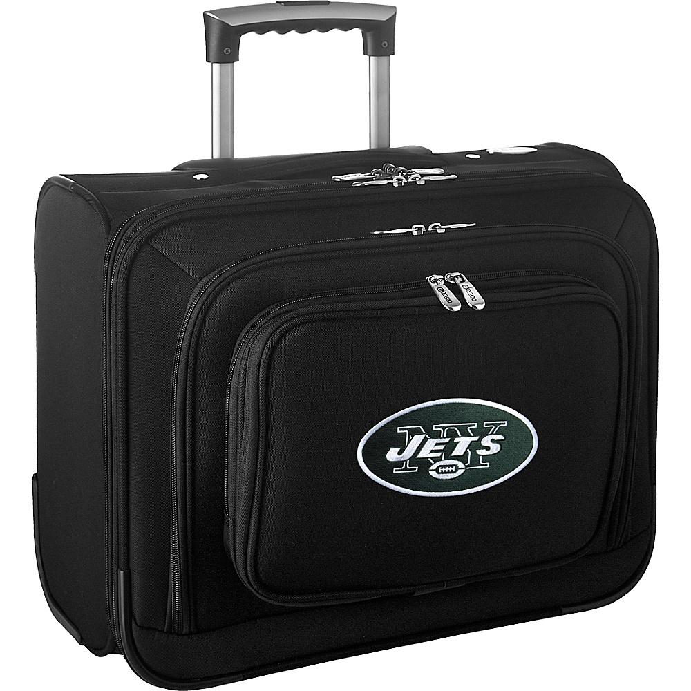 Denco Sports Luggage NFL 14 Laptop Overnighter New York Jets - Denco Sports Luggage Wheeled Business Cases - Work Bags & Briefcases, Wheeled Business Cases