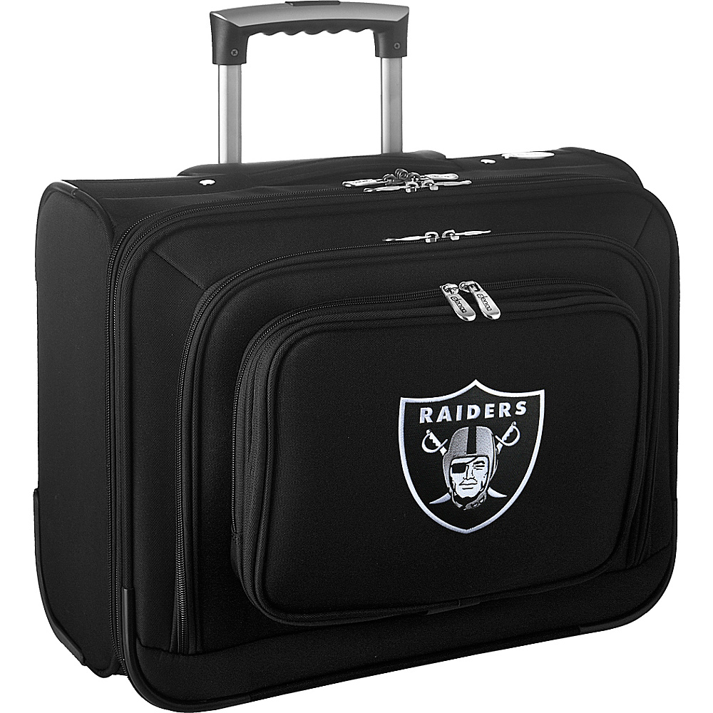 Denco Sports Luggage NFL 14 Laptop Overnighter Oakland Raiders - Denco Sports Luggage Wheeled Business Cases - Work Bags & Briefcases, Wheeled Business Cases