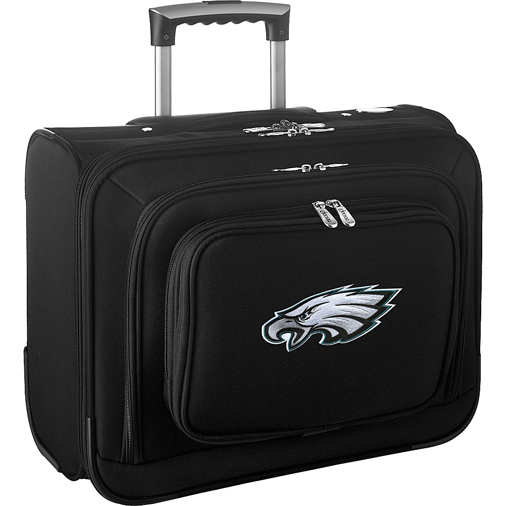 Denco Sports Luggage NFL 14 Laptop Overnighter Philadelphia Eagles - Denco Sports Luggage Wheeled Business Cases - Work Bags & Briefcases, Wheeled Business Cases
