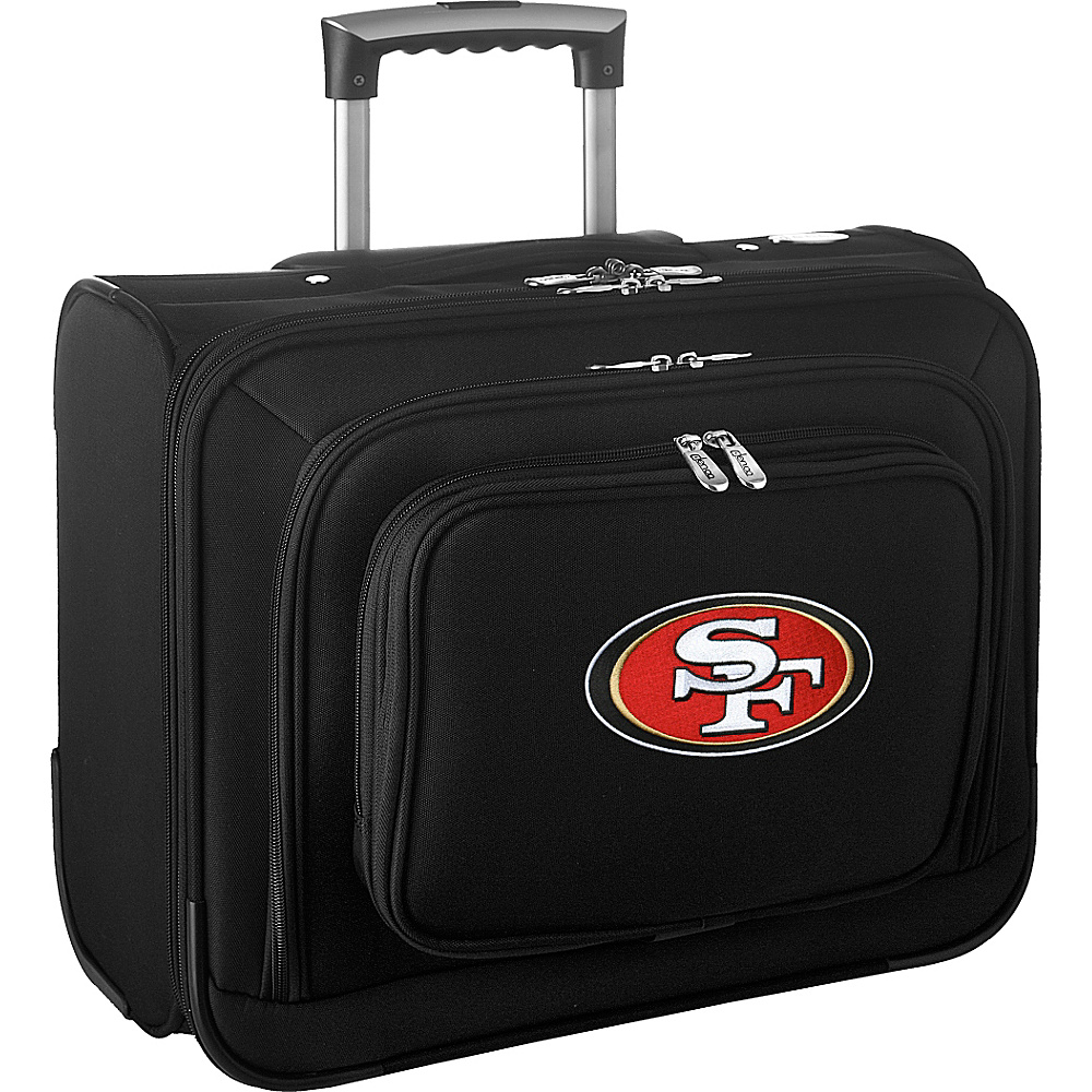 Denco Sports Luggage NFL 14 Laptop Overnighter San Francisco 49ers - Denco Sports Luggage Wheeled Business Cases - Work Bags & Briefcases, Wheeled Business Cases