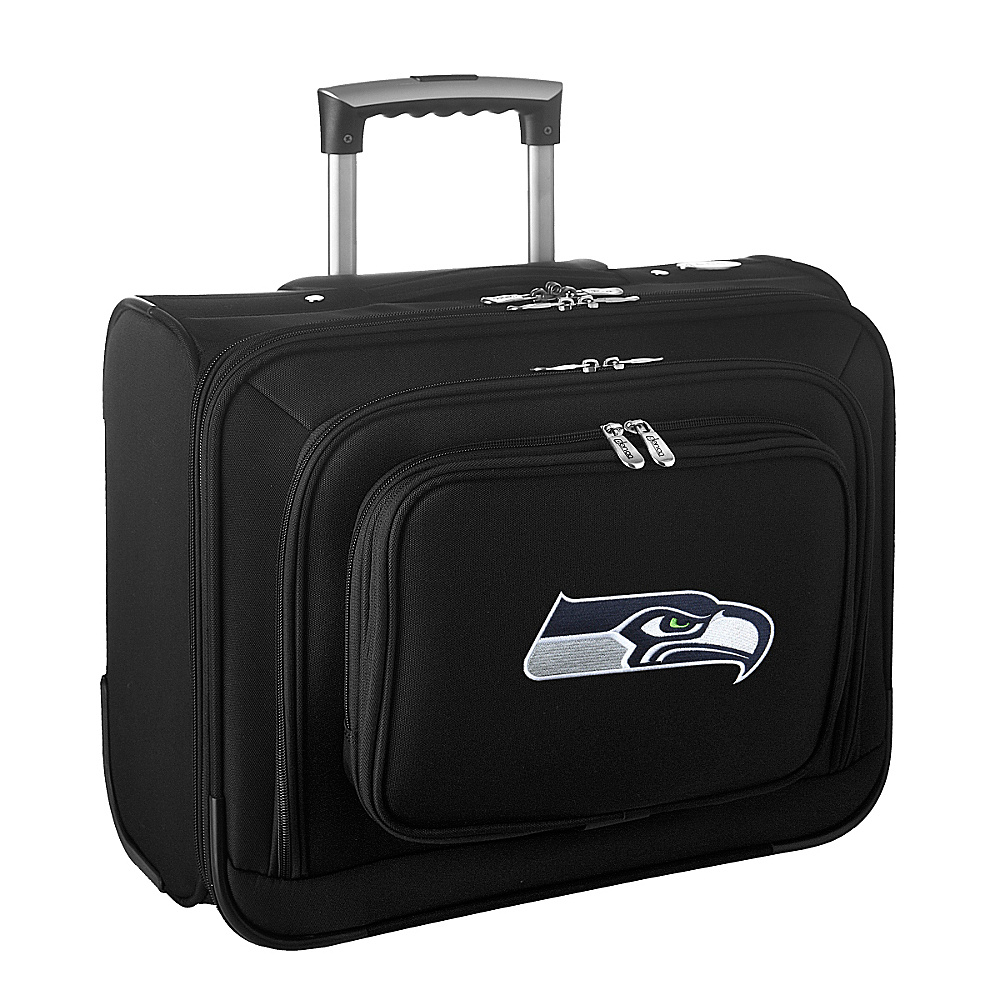 Denco Sports Luggage NFL 14 Laptop Overnighter Seattle Seahawks - Denco Sports Luggage Wheeled Business Cases - Work Bags & Briefcases, Wheeled Business Cases
