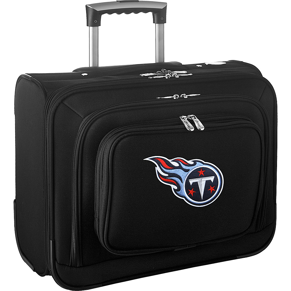 Denco Sports Luggage NFL 14 Laptop Overnighter Tennessee Titans - Denco Sports Luggage Wheeled Business Cases - Work Bags & Briefcases, Wheeled Business Cases