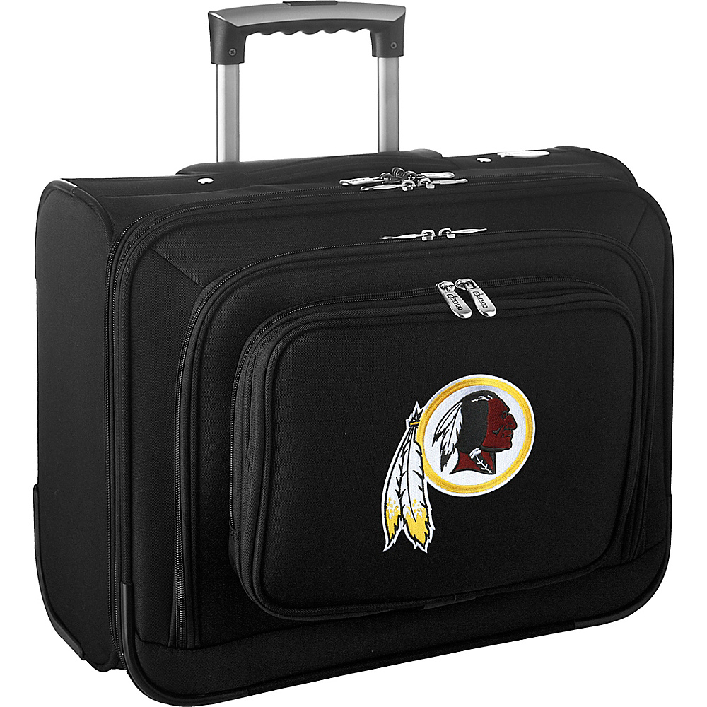 Denco Sports Luggage NFL 14 Laptop Overnighter Washington Redskins - Denco Sports Luggage Wheeled Business Cases - Work Bags & Briefcases, Wheeled Business Cases