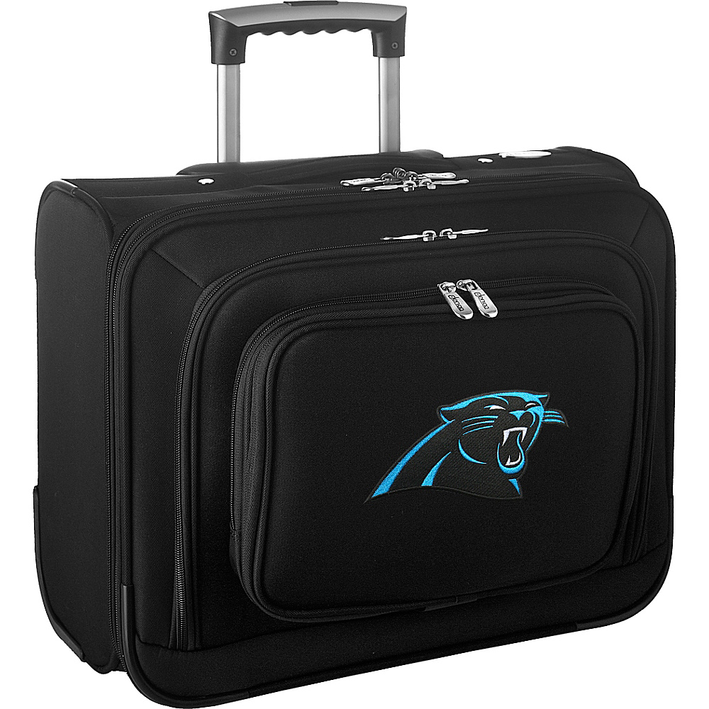 Denco Sports Luggage NFL 14 Laptop Overnighter Carolina Panthers - Denco Sports Luggage Wheeled Business Cases - Work Bags & Briefcases, Wheeled Business Cases