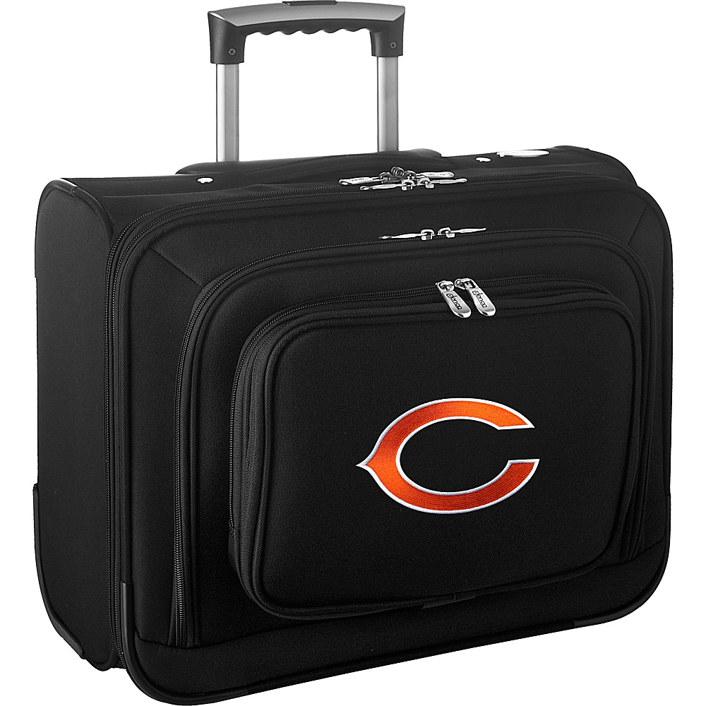 Denco Sports Luggage NFL 14 Laptop Overnighter Chicago Bears - Denco Sports Luggage Wheeled Business Cases - Work Bags & Briefcases, Wheeled Business Cases