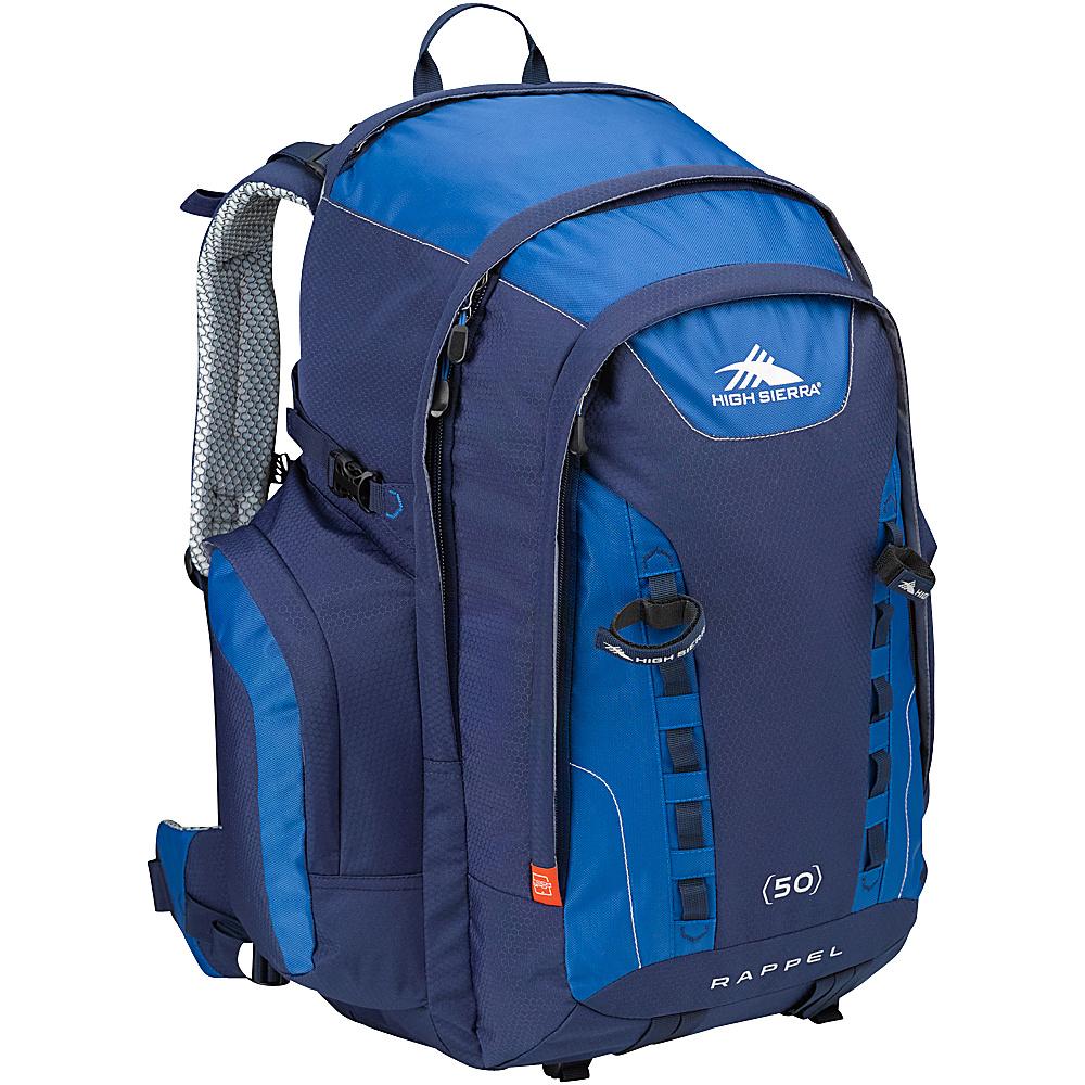 High Sierra Rappel 50 Hiking Backpack True Navy Royal True Navy High Sierra Day Hiking Backpacks