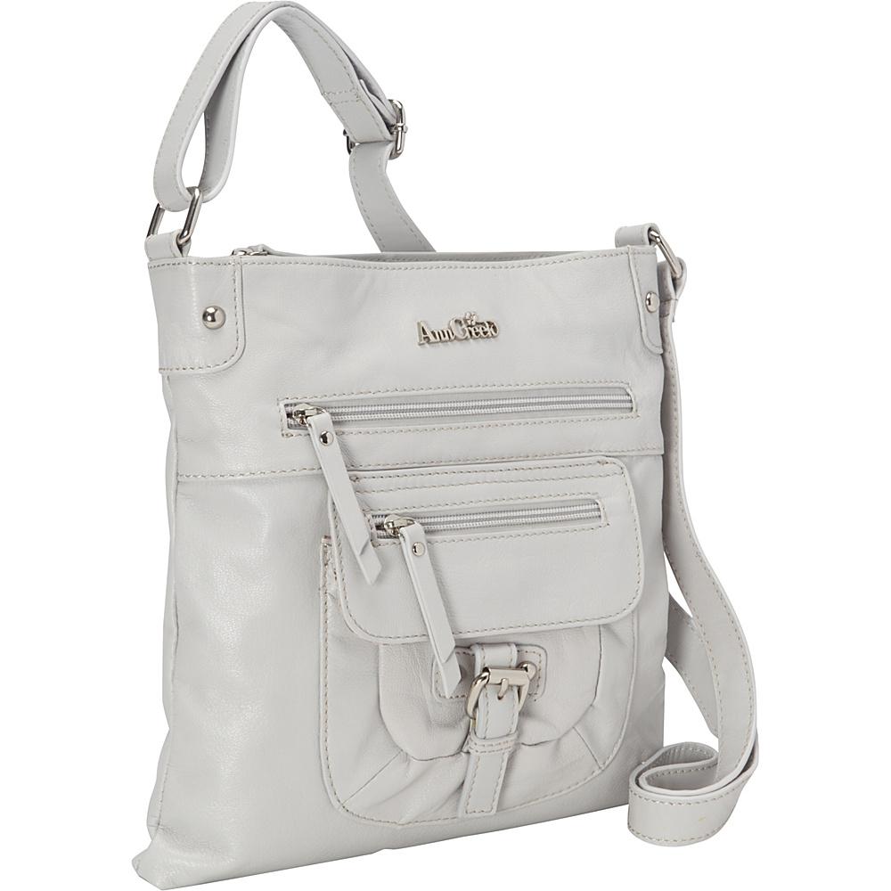 Ann Creek Glenford Satchel Milk Ann Creek Leather Handbags