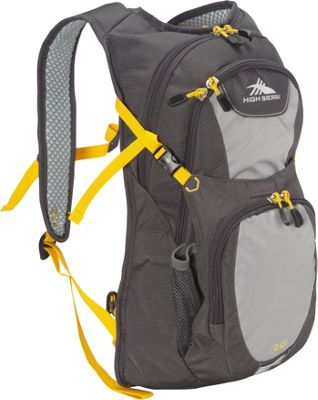 High Sierra Longshot 70 Hydration Pack Mercury/Ash/Yell-O - High Sierra Hydration Packs and Bottles