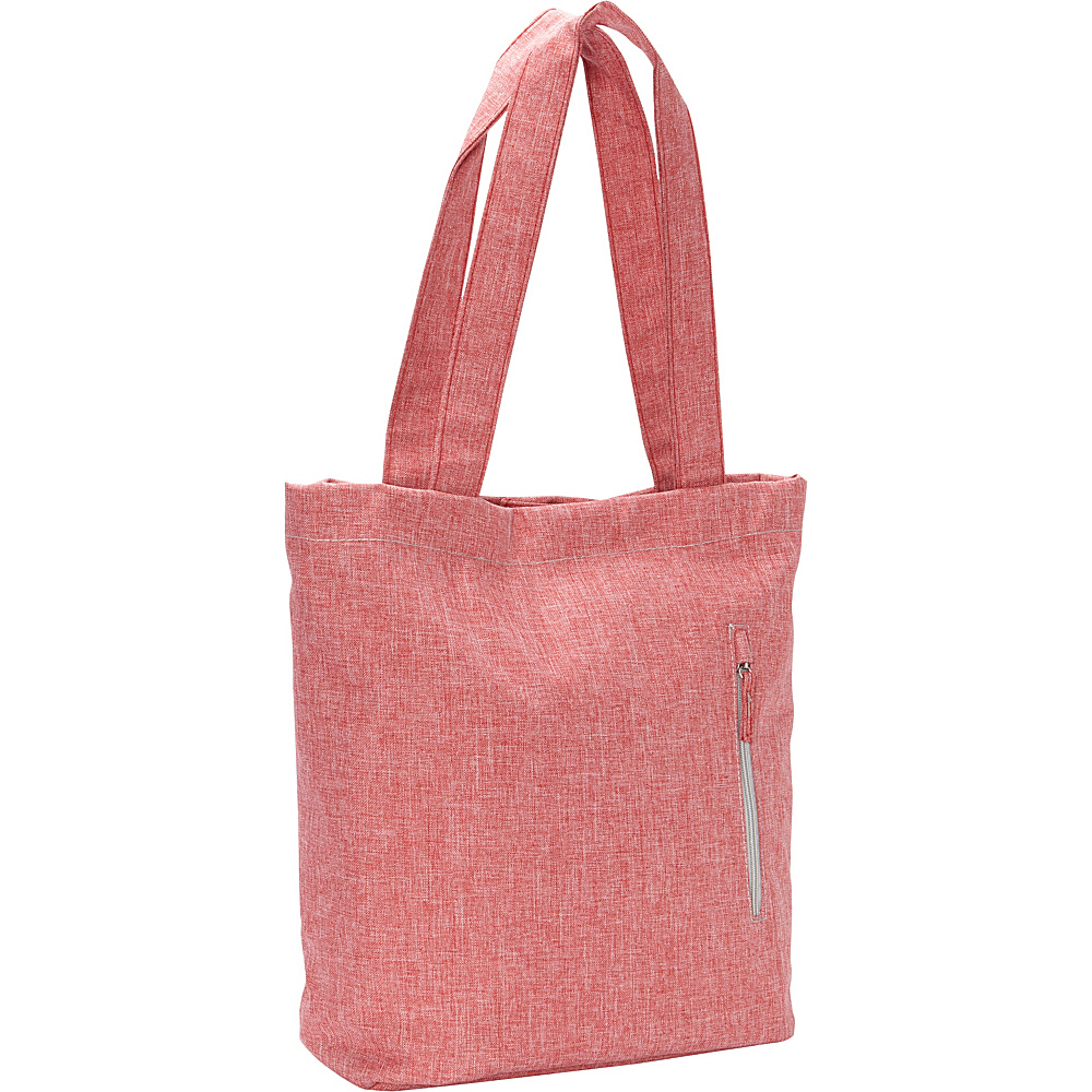 Everest Laptop & Tablet Tote Bag Coral/Grey - Everest Women's Business Bags