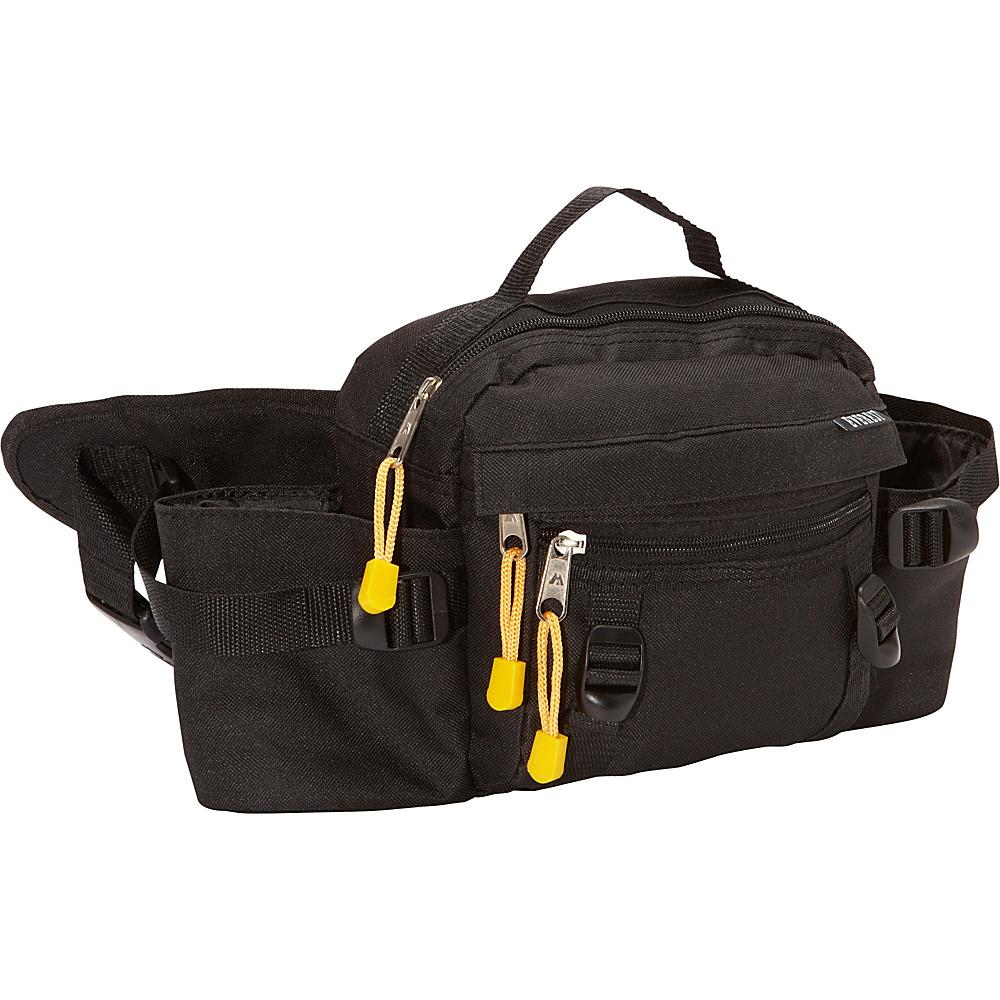 Everest Dual Squeeze Hydration Pack Black - Everest Waist Packs - Backpacks, Waist Packs