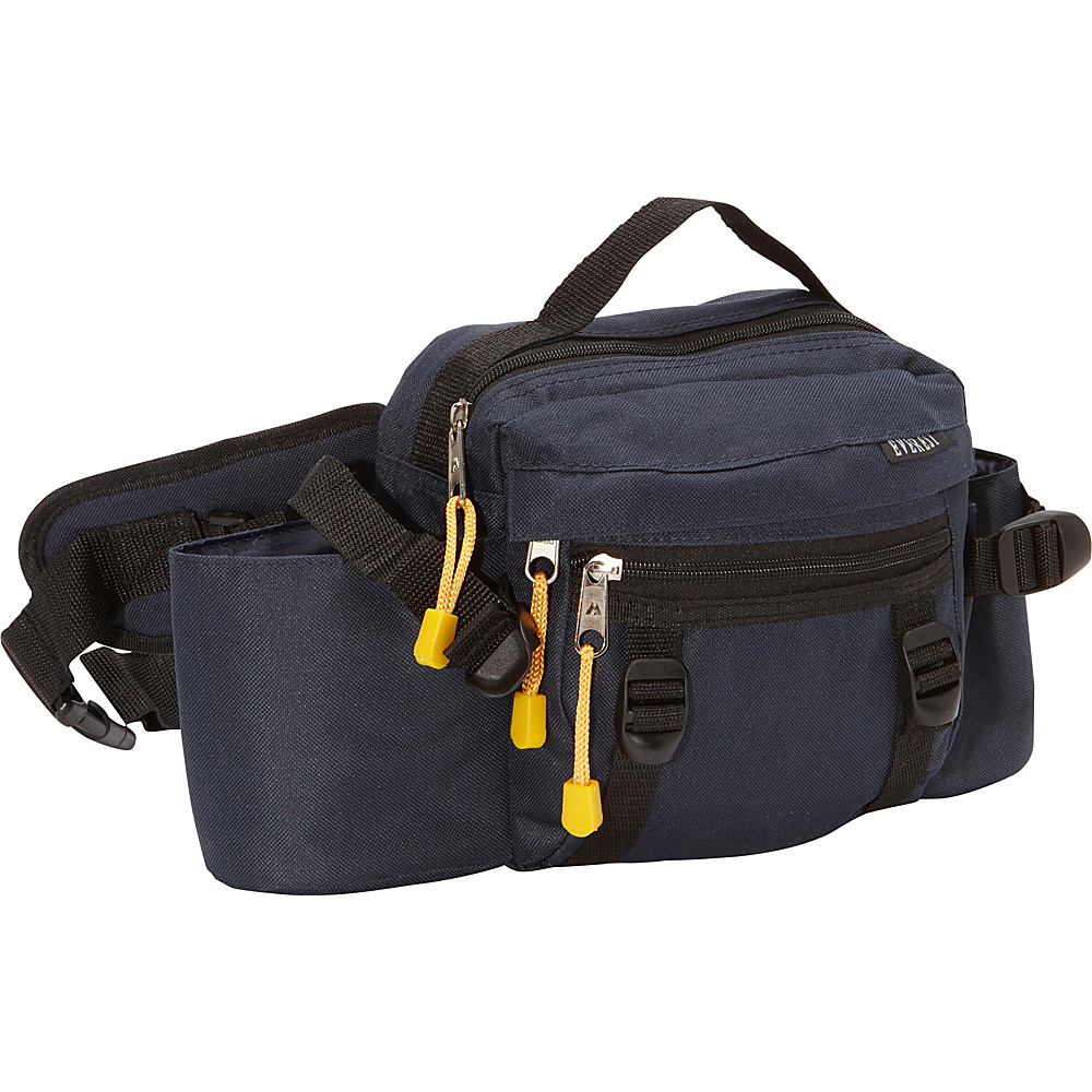 Everest Dual Squeeze Hydration Pack Navy - Everest Waist Packs - Backpacks, Waist Packs