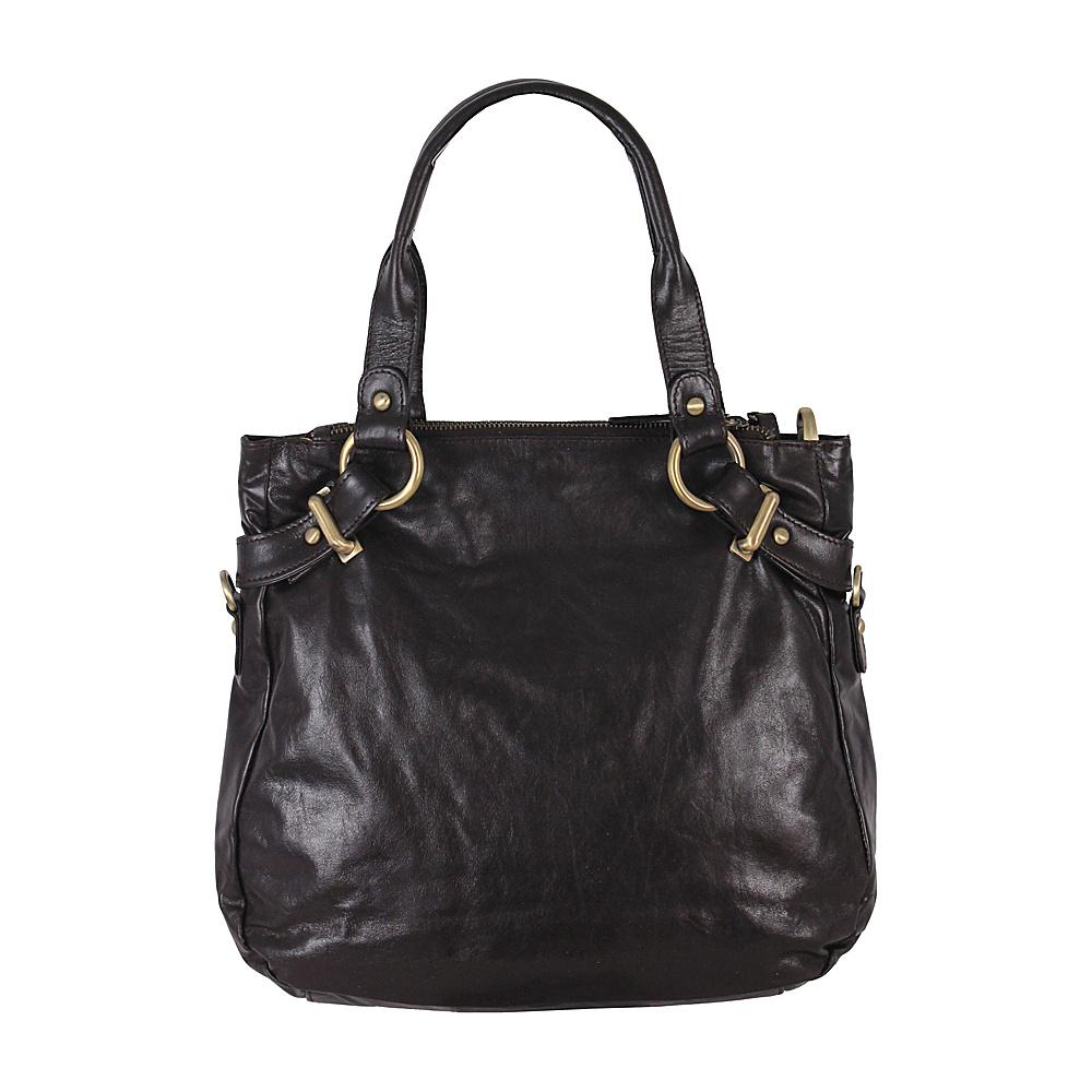 Latico Leathers Rosalie Satchel Espresso - Latico Leathers Leather Handbags - Handbags, Leather Handbags
