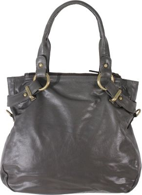 Latico Leathers Rosalie Satchel Slate - Latico Leathers Leather Handbags