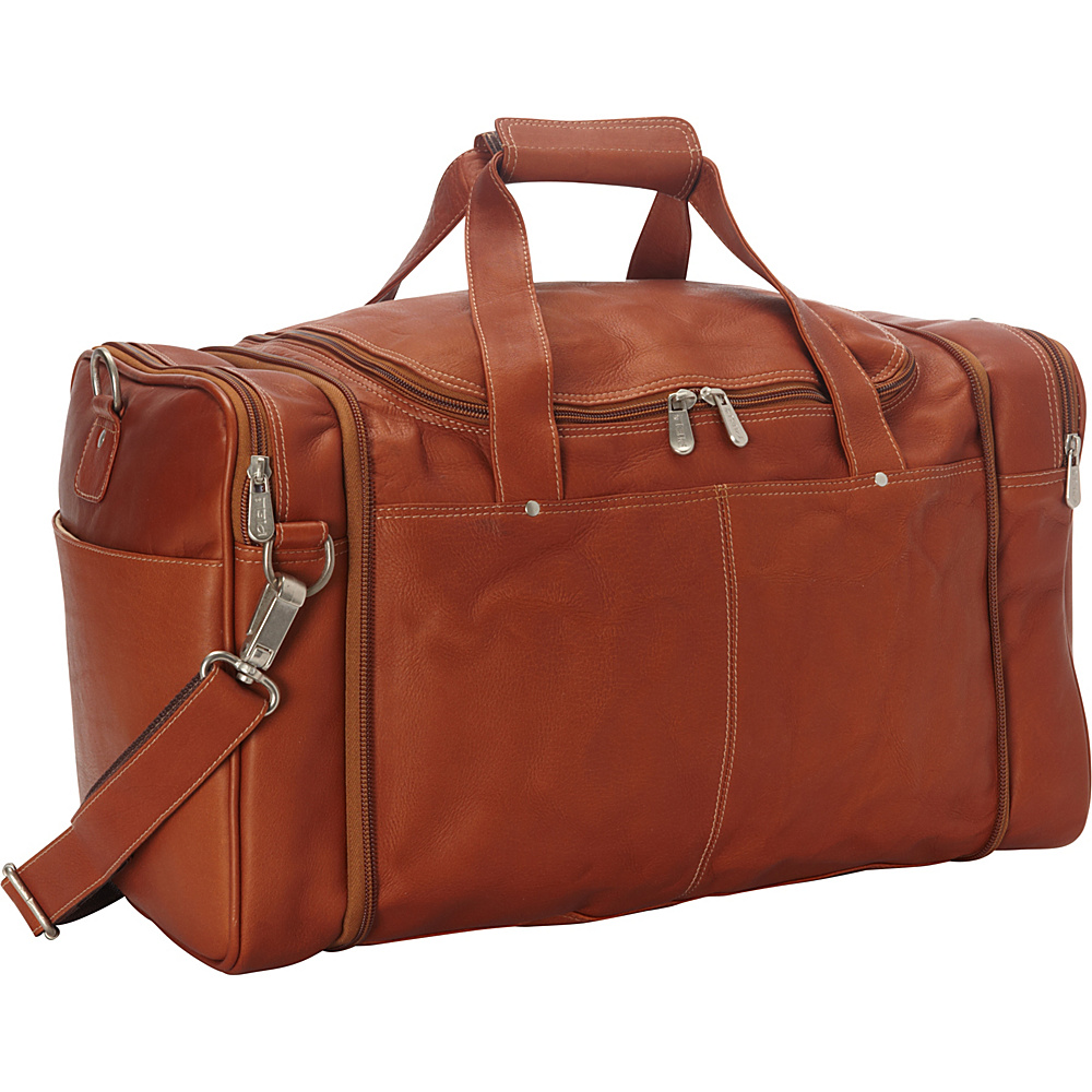 Piel Collapsible Duffel To Carry-All Saddle - Piel Travel Duffels - Duffels, Travel Duffels