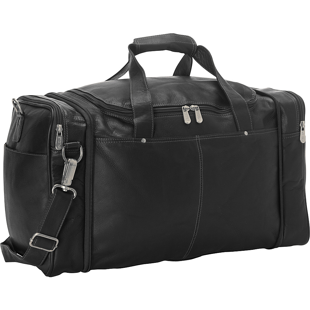 Piel Collapsible Duffel To Carry-All Black - Piel Travel Duffels - Duffels, Travel Duffels