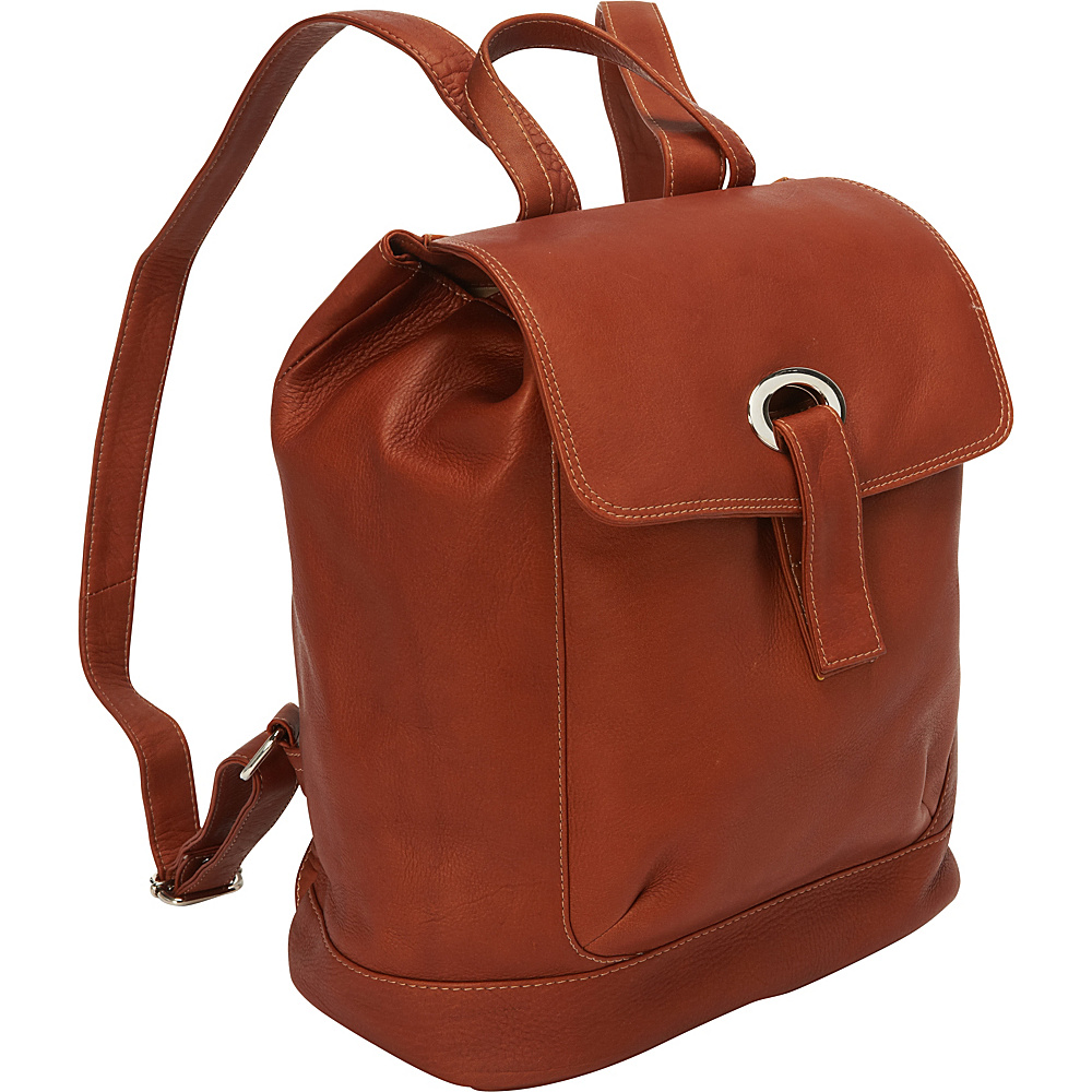 Piel Large Oval Loop Backpack Saddle - Piel Everyday Backpacks - Backpacks, Everyday Backpacks