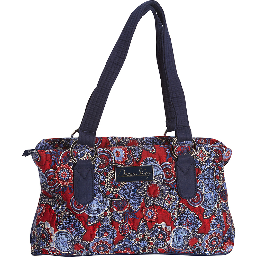 Donna Sharp Reese Bag Quilted Bristol Donna Sharp Fabric Handbags