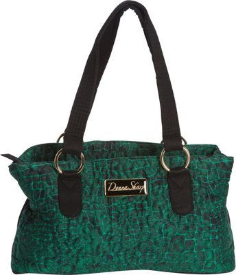Donna Sharp Reese Bag - Quilted Jade - Donna Sharp Fabric Handbags