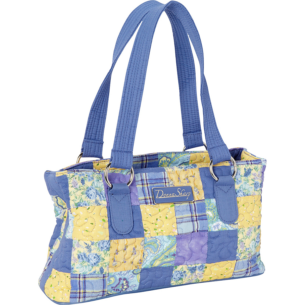 Donna Sharp Reese Bag - Quilted Lemon Drop - Donna Sharp Fabric Handbags