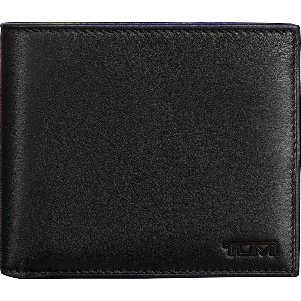 Tumi Delta Global Center Flip ID Passcase Black - Tumi Mens Wallets - Work Bags & Briefcases, Men's Wallets