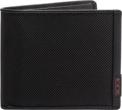 Tumi Alpha Global Center Flip ID Passcase Black - Tumi Men's Wallets