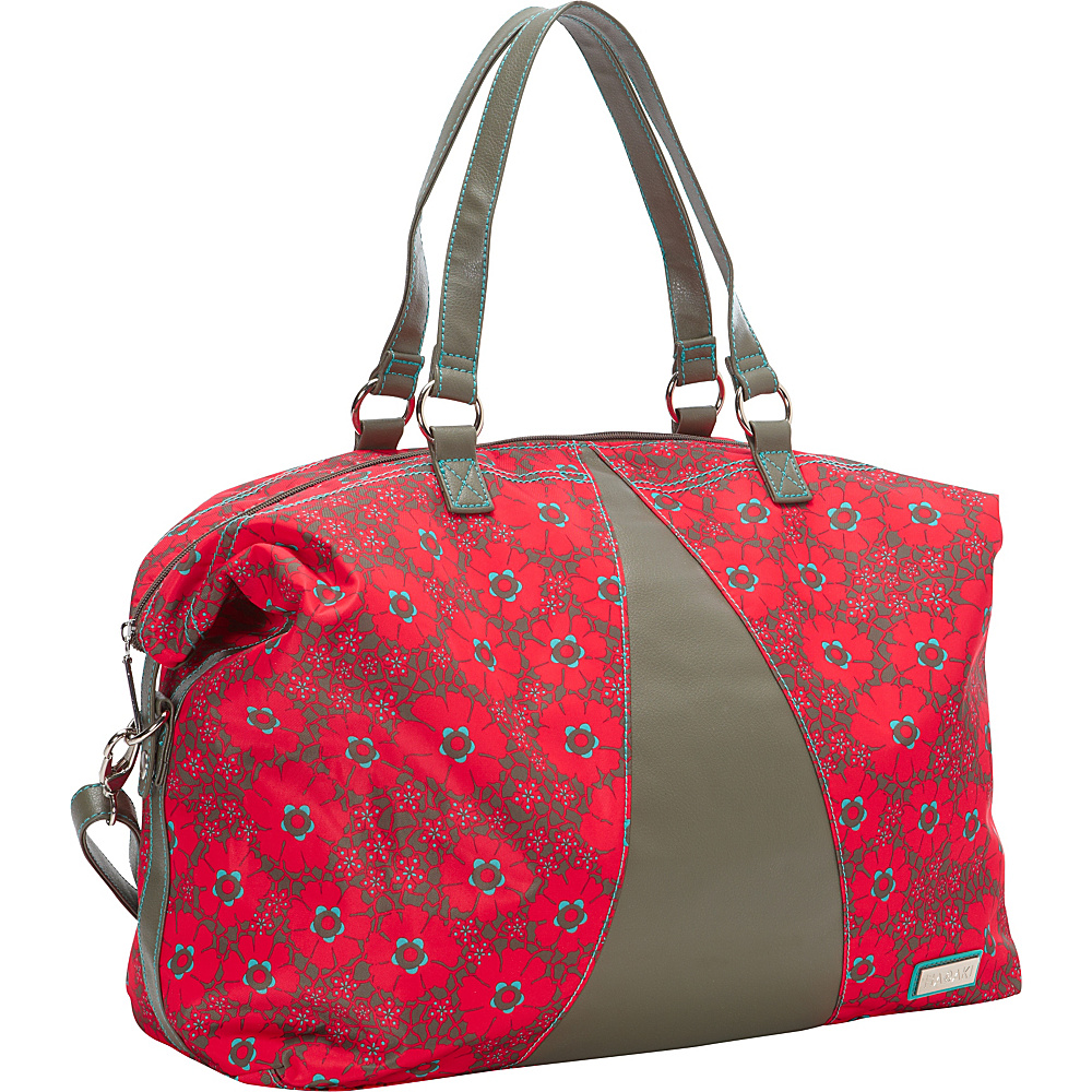 Hadaki Valerias Duffle Primavera Lacey - Hadaki Luggage Totes and Satchels - Luggage, Luggage Totes and Satchels