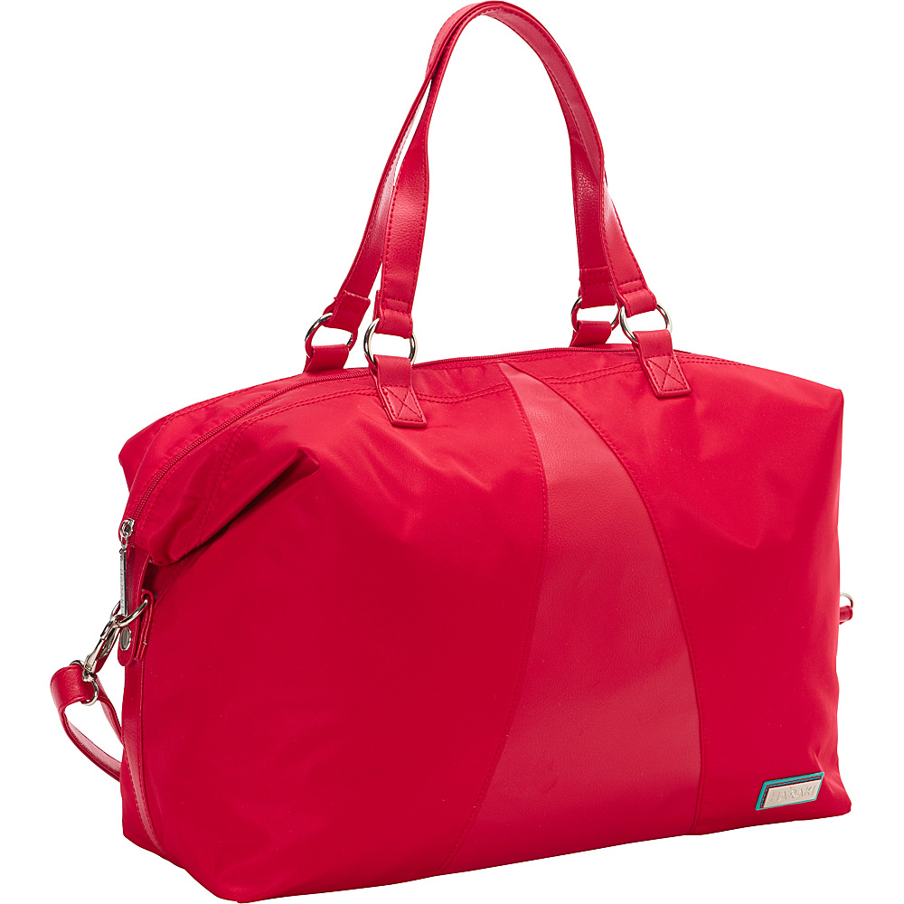 Hadaki Valerias Duffle Tango Red - Hadaki Luggage Totes and Satchels - Luggage, Luggage Totes and Satchels