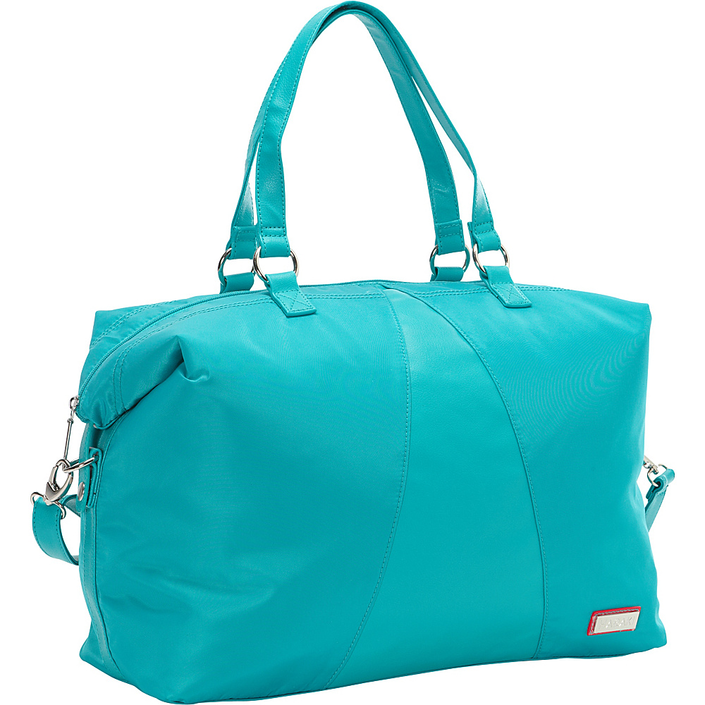Hadaki Valerias Duffle Viridian Green - Hadaki Luggage Totes and Satchels - Luggage, Luggage Totes and Satchels
