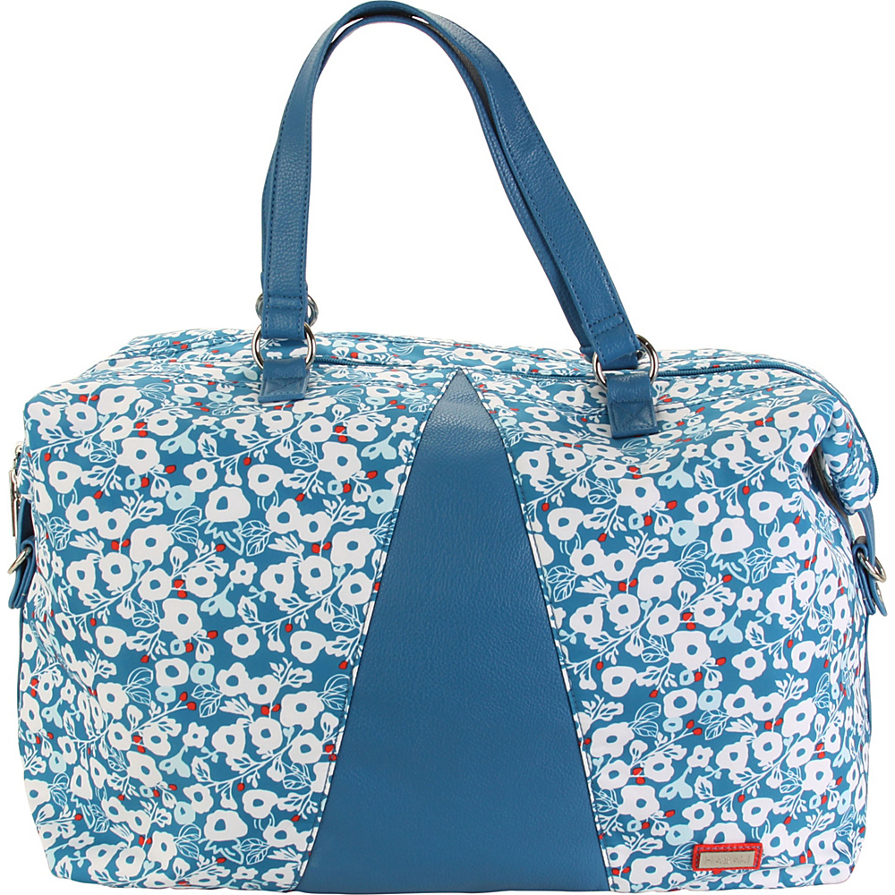 Hadaki Valerias Duffle Berry Blossom Teal - Hadaki Luggage Totes and Satchels - Luggage, Luggage Totes and Satchels