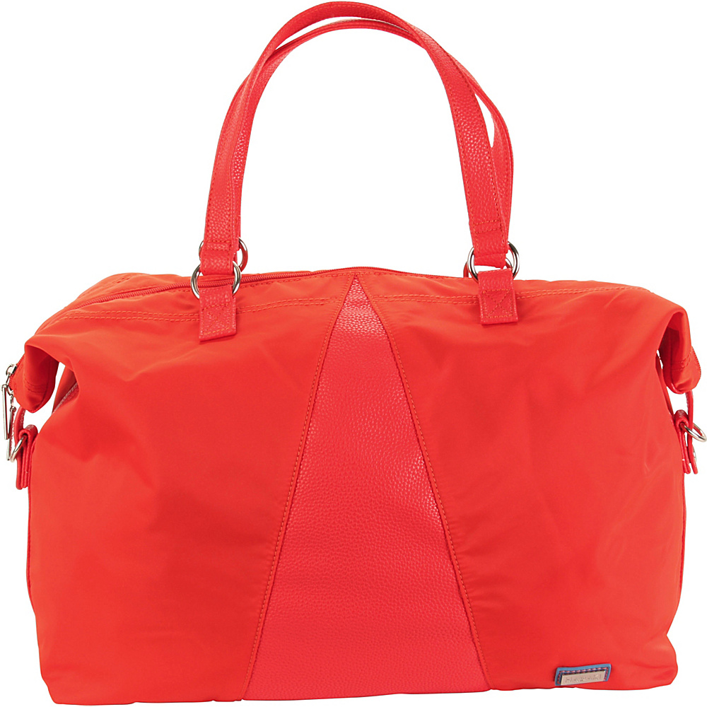 Hadaki Valerias Duffle Fiery Red Solid - Hadaki Luggage Totes and Satchels - Luggage, Luggage Totes and Satchels