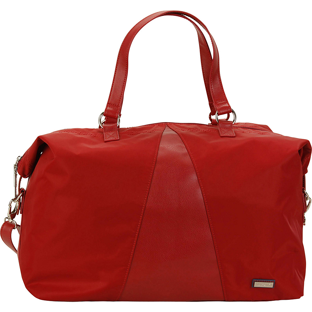 Hadaki Valerias Duffle Rhubarb - Hadaki Luggage Totes and Satchels - Luggage, Luggage Totes and Satchels