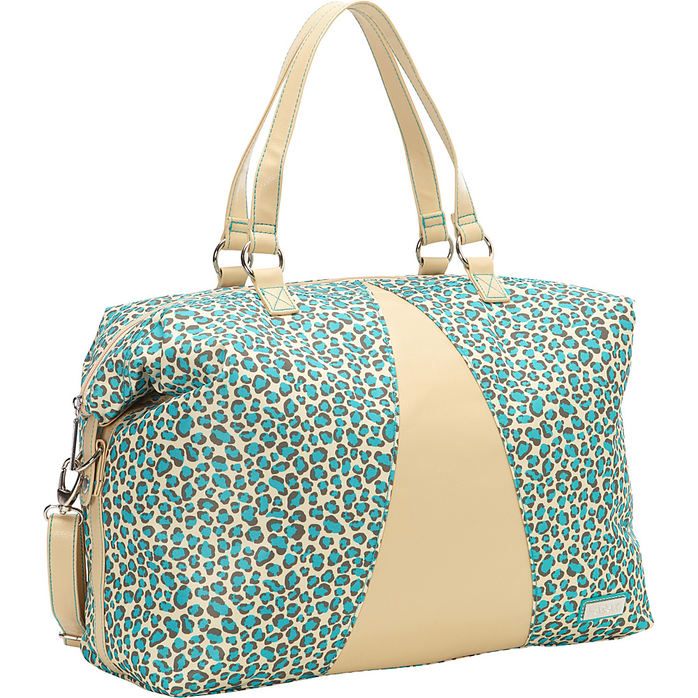 Hadaki Valerias Duffle Primavera Cheetah - Hadaki Luggage Totes and Satchels - Luggage, Luggage Totes and Satchels