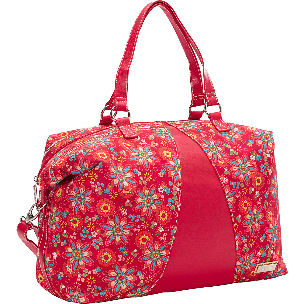 Hadaki Valerias Duffle Primavera Floral - Hadaki Luggage Totes and Satchels - Luggage, Luggage Totes and Satchels