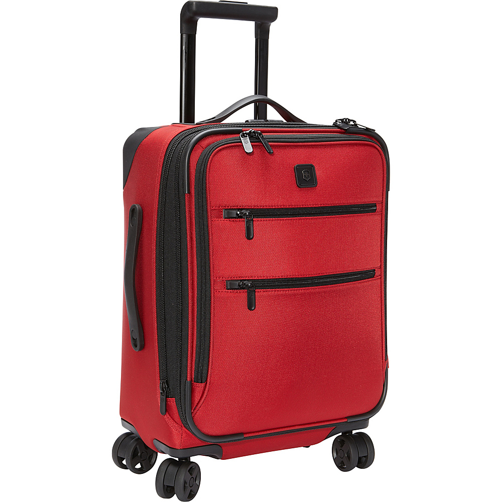 Victorinox Lexicon 20 Dual Caster Carry On Red Victorinox Softside Carry On