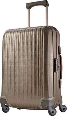 Hartmann Luggage Innovaire Global Carry On Spinner Champagne - Hartmann Luggage Hardside Carry-On