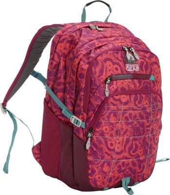 Granite Gear Buffalo Laptop Backpack Geoscape/Verbena/Stratos - Granite Gear Business & Laptop Backpacks