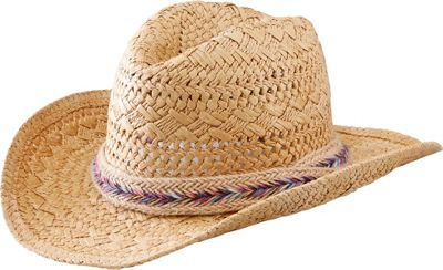 San Diego Hat 5-7Y Kids Paper Cowboy Hat One Size - Tobacco - San Diego Hat Hats/Gloves/Scarves