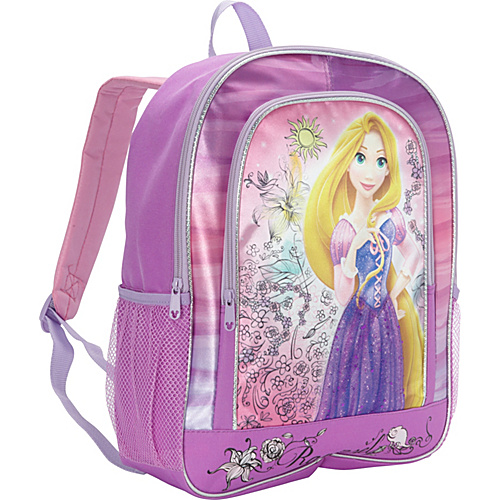 Disney Rapunzel Backpack Purple - Disney School & Day Hiking Backpacks