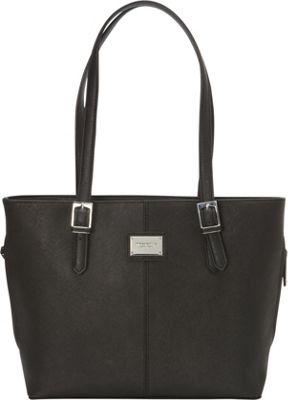 Tignanello Clean & Classic Tote Bag Black - Tignanello Leather Handbags